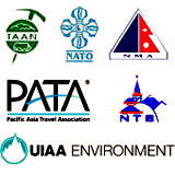 Member of Trekking Agents Association of Nepal(TAAN), Nepal Association of Tour Operators (NATO), Nepal Mountaineering Association(NMA), Pacific Asia Travel Agents(PATA), Nepal Tourism Board(NTB), UIAA ENVIRONMENT